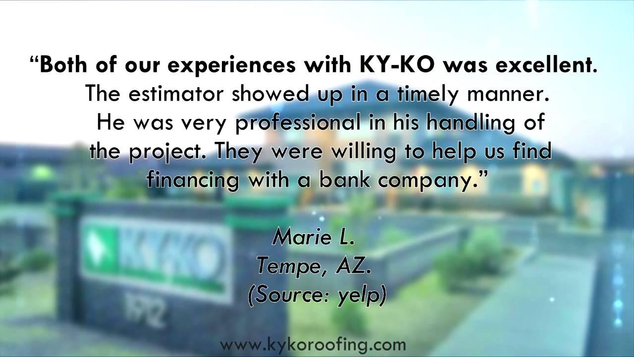 Ky Ko Roofing   Reviews   Phoenix, Arizona   Roofing