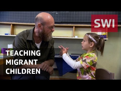 Teaching migrant children, one day at a time