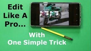 Edit Like A Pro - My Favorite Photo Editing Trick (Note 9 & Galaxy S9)
