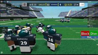 How to lob in Football Game (ROBLOX)