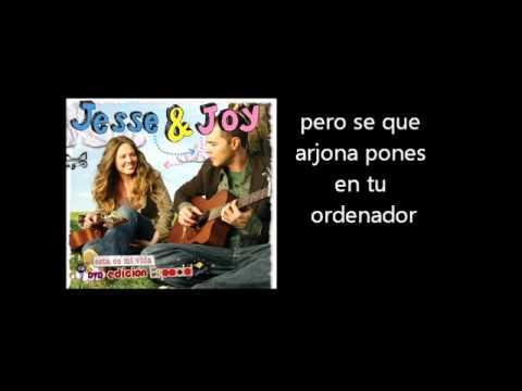 Jesse & Joy - Una En Un Millon Letra Lyrics