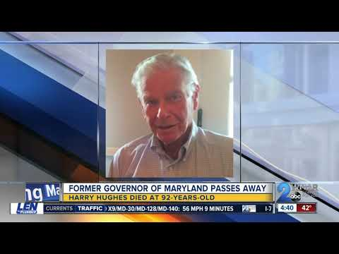 Former Maryland Governor Harry Hughes passes away at 92