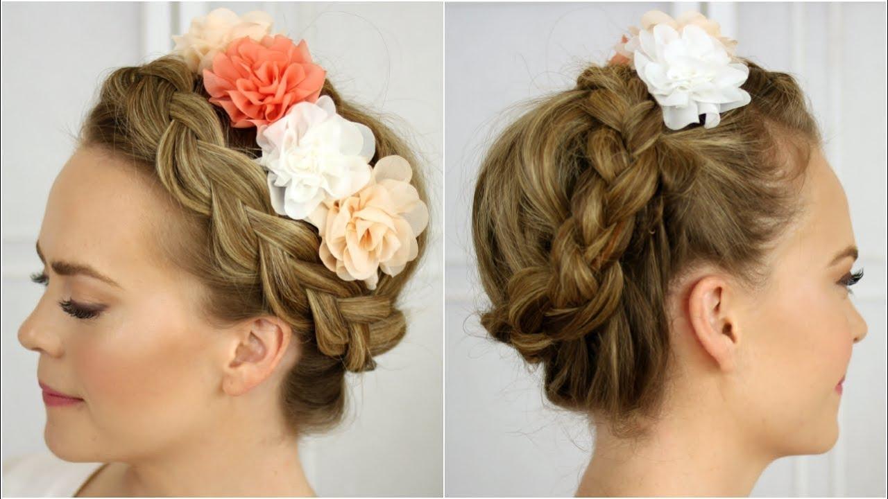 Flower Crown Braid Youtube