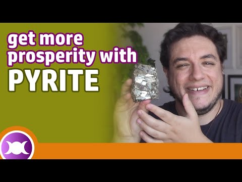 Pyrite Crystal - Benefits and Properties - How to use the Pyrite?