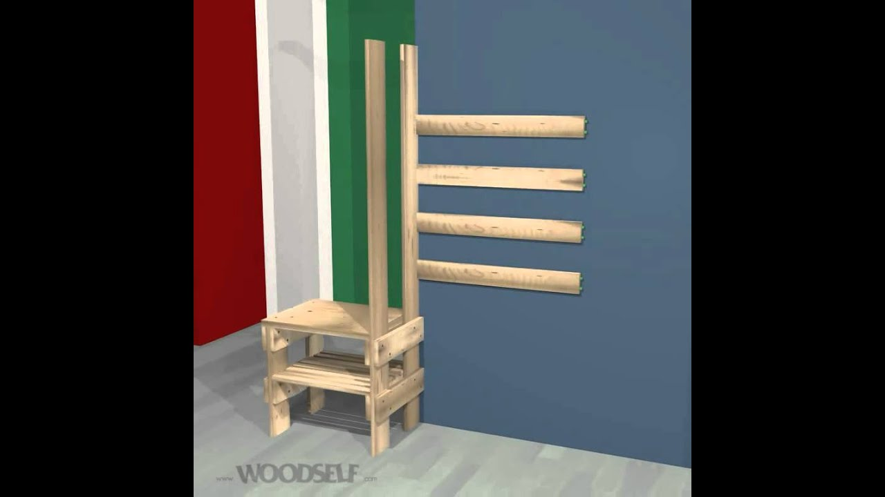 woodself how to build a shoe rack youtube. Black Bedroom Furniture Sets. Home Design Ideas