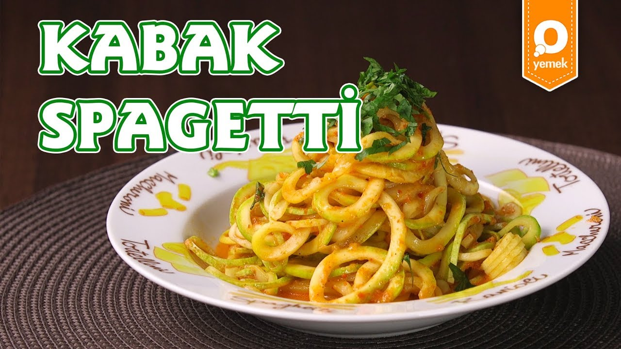 Kabaklı Spagetti Tarifi