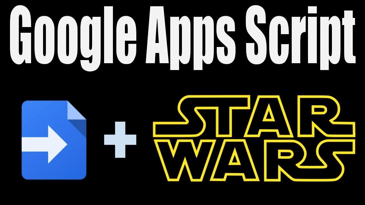 Star Wars Crawl with Google Sites and Apps Script