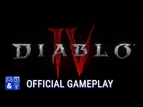 Diablo 4 Gameplay Trailer - Diablo 4 Reveal at Blizzcon