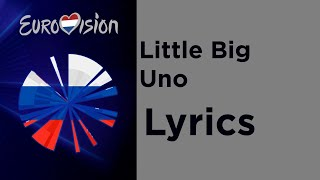 Little big - UNO (Lyrics) Russia 🇷🇺 Eurovision 2020