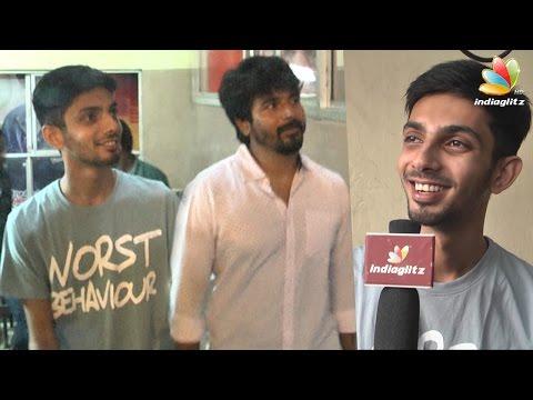 Anirudh, Sivakarthikeyan at Remo FDFS Kasi Theatre : Senjitaley was a mass hit | Interview