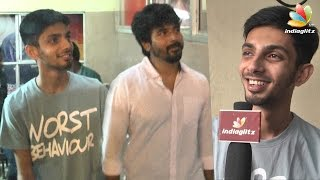 Anirudh, Sivakarthikeyan At Remo Fdfs Kasi Theatre : Senjitaley Was A Mass Hit  Interview