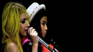 Born This Way - Lady Gaga duet with Maria Aragon LIVE Toronto