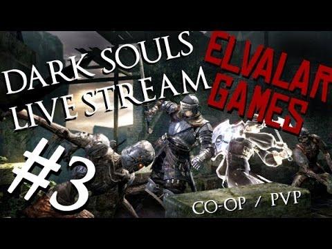 Dark Souls - Prepare to Die in triple First Playthrough LiveStream [Ep. 3]