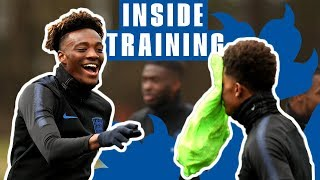 Cheeky Nutmegs, Great Goals and Incredible Saves! | Inside the England U21 Training Camp