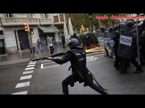 NEWS Catalan Referendum - Catalan independence referendum in chaos as police clash with voters