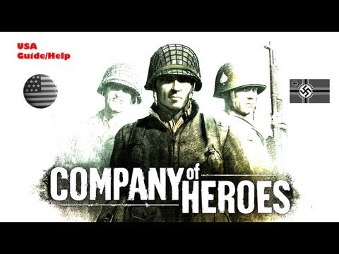 Company Of Heroes - Hints And Tips Guide To Winning For Noobs USA [HD]