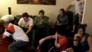 Large Group Reaction to 2 girls 1 cup!......vile