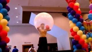 Video Performer climbing into a balloon. download MP3, 3GP, MP4, WEBM, AVI, FLV April 2018