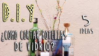 DIY: COMO CORTAR BOTELLAS DE VIDRIO (RECICLA) Thumbnail