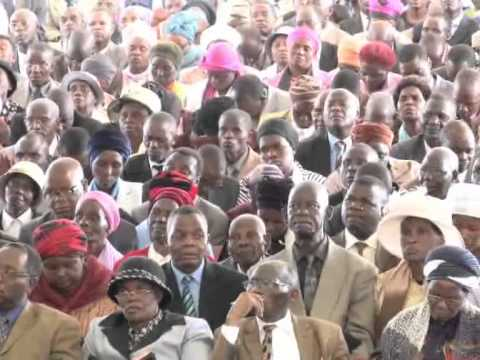 The Apostolic Faith Mission of Africa - 2012 Annual Campmeeting (15/12/12 Morning Service)