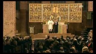 Trauergottesdienst für Robert Enke in der Marktkirche Hannover am 11 11 2009