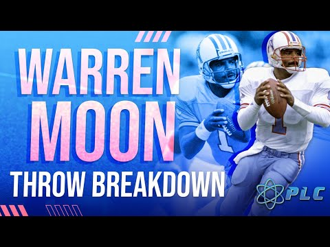 Warren Moon Throwing Breakdown