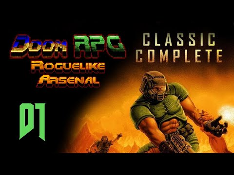 Classic Complete Doom Roguelike RPG: Part 1