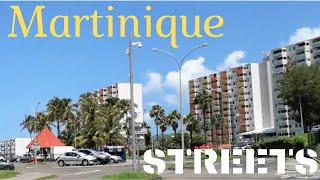MARTINIQUE (Caribbean)  Streetsroads of FortdeFrance and Schoelcher (ruesroutes FDFSCH)