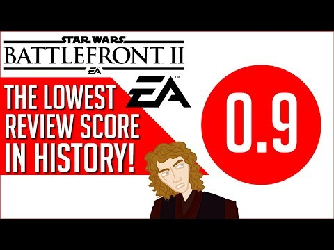 A New Record For Lowest Review Score Ever - Star Wars Battlefront II Fallout Continues