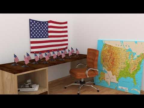 Himno y banderas de Estados Unidos | United States flags and anthem