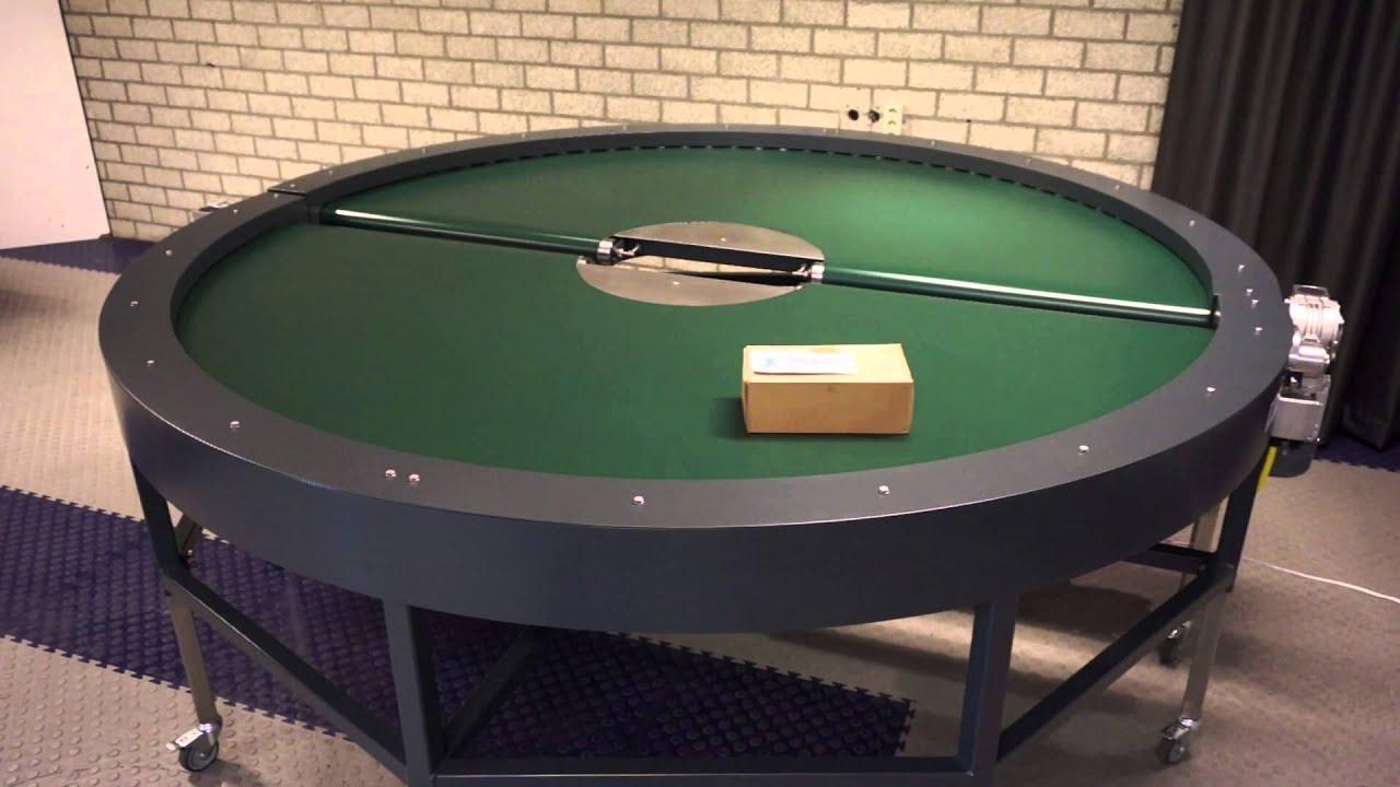 JesKo Metaal Design 180 degree curved belt conveyor ...