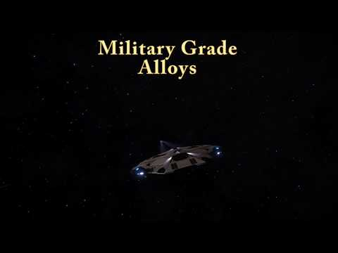 Elite Dangerous Military Grade Alloys (Shown fast and simple)