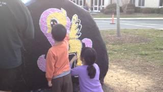 Birthday (spirit) Rock Painting