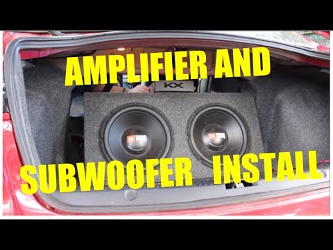 How To Install an Amplifier and Subwoofer Into a Mitsubishi Lancer CJ