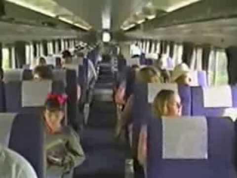 riding amtrak u0026 39 s  u0026quot heartland flyer u0026quot  august 1999 youtube shape of train