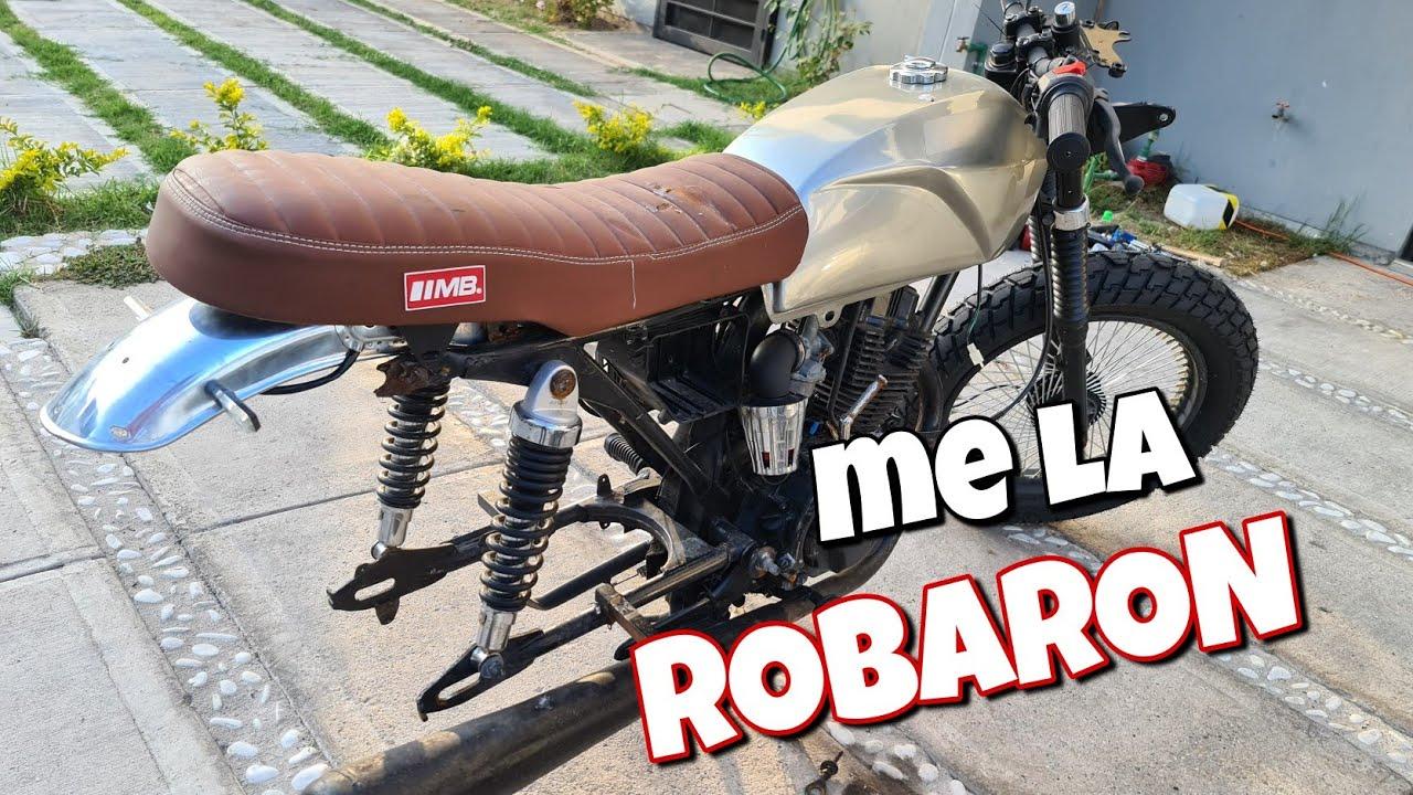 Me Robaron La Llanta De La Moto