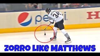 How To Zorro ON ICE Like Auston Matthews