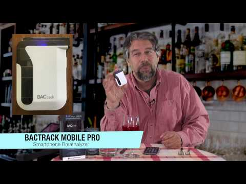 BACtrack Mobile Pro Blood Alcohol Testing Device - REVIEWED!