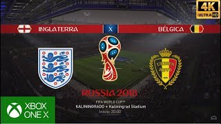 FIFA 18 WORLD CUP RUSSIA 2018 - BÉLGICA X INGLATERRA