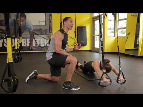 Dynamic Duo: TRX Duo Trainer Plank and Kneeling Rollout