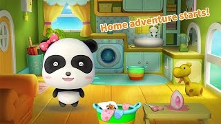 Baby Panda Cleaning Fun ♥ Children Learn Lots Of Useful Tric…