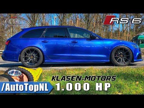 1000HP AUDI RS6 Klasen Motors REVIEW POV On AUTOBAHN By AutoTopNL