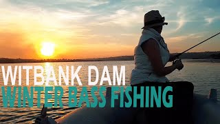 Bass fishing at Witbank Dam South Africa Sep 2019