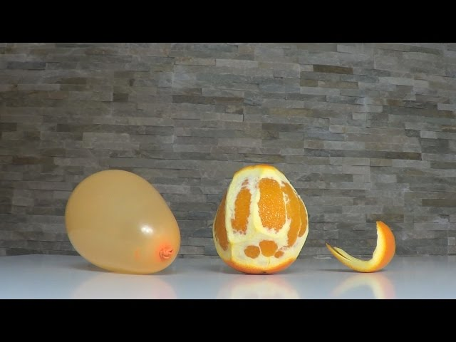Blow Up a Balloon with Orange!