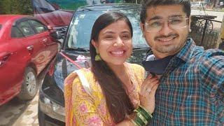 New Car Vlog 🚗Black XUV 300 I Akanksha Sharma I Rajat Chauhan
