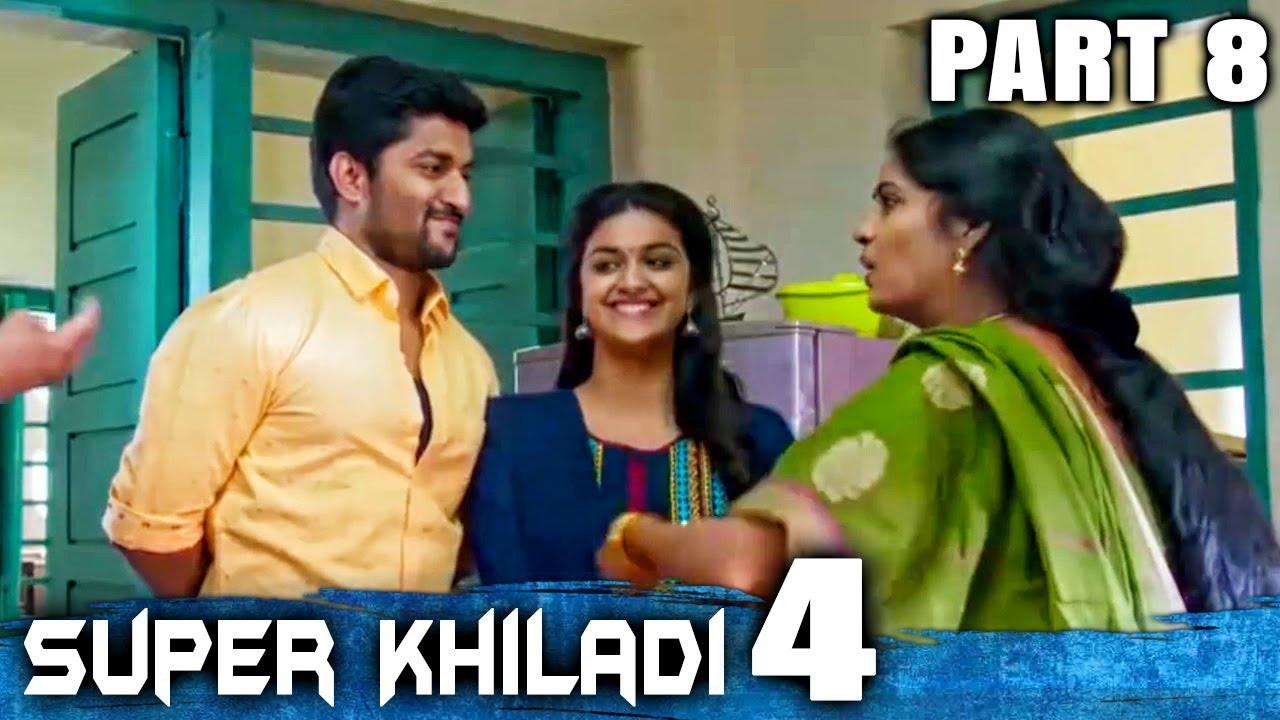 Download Super Khiladi 4 (Nenu Local) Hindi Dubbed Movie   PART 8 OF 12   Nani, Keerthy Suresh