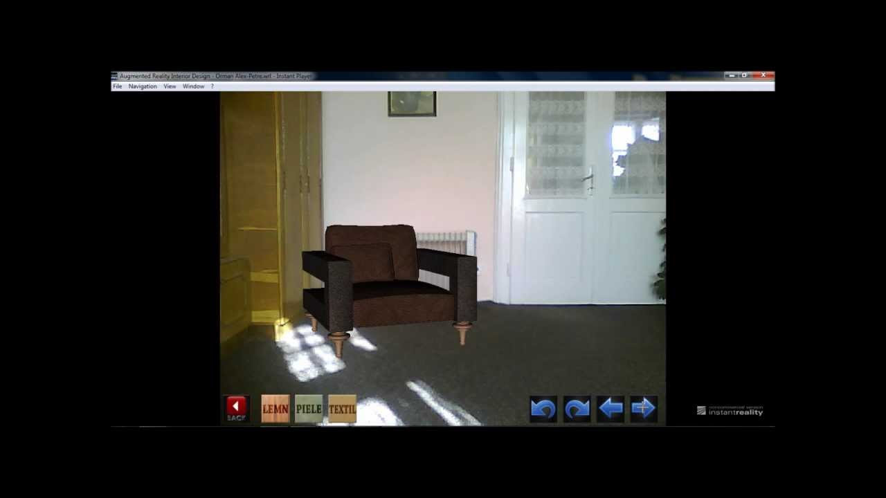 markerless augmented reality ar interior design youtube