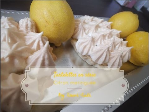 tartelettes citron meringu e par sucr sal lemon meringue pie youtube. Black Bedroom Furniture Sets. Home Design Ideas