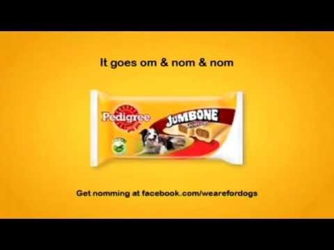 Pedigree Jumbone - Om Nom Nom TV advert w/ Nick Frost