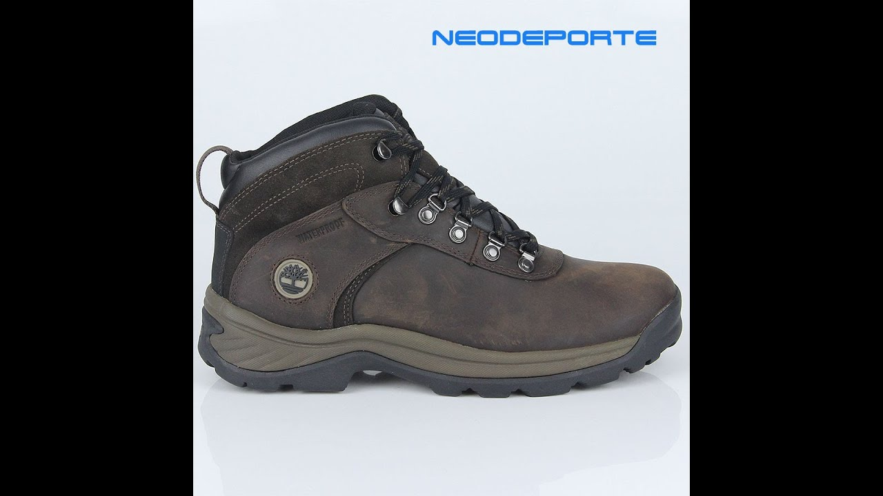 Flume Timberland Para Mid Youtube 18128 Hombre Botas Impermeables q6T1v